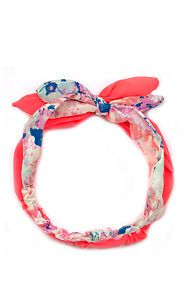 FLORAL HEADBAND.......perfect for the summer