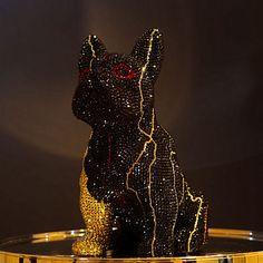 French Bruno by J. Edelweiss, Batman, French, Superhero, Fictional Characters, Art, Bulldog Breeds, Kunst, Art Background