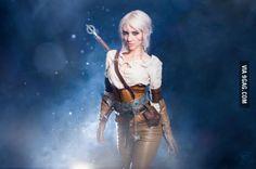 Ciri Witcher 3 cosplay by Lyz Brickley