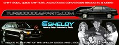 Improve shift quality and durability with a heim joint shift rod setup, conversion brackets and our exclusive quick shifter assembly. Resources for turbo Dodge muscle L-body cars of the Dodge, Facebook Banner, Marketing, Classic, American, Derby, Classical Music