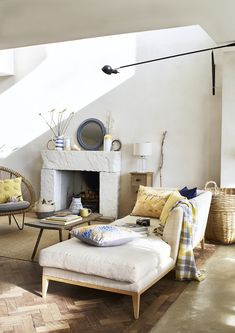 Time to turn your home into the ultimate chill-out zone. Create a mindful home with these 6 interior design ideas by interior stylist Maxine Brady Interior Design Advice, Interior Stylist, Decorating Your Home, Interior Decorating, Furniture Village, Interiors Magazine, Simple Colors, Love Home, Room Accessories