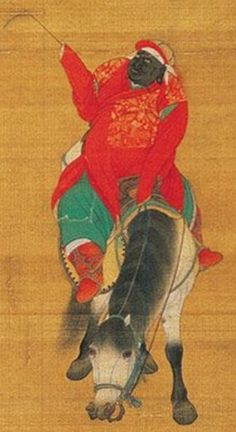 Ancient Black China - We can see that of the eight representatives of the various tribes, only two are pure Black men.