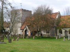 The Church of St Mary's at Turville- Probably better known as the church in the TV series The Vicar of Dibley