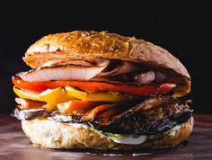 Mmm grilled veggie burgers! Happy Monday! www.facebook.com/peugeotusa