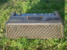 Vintage 60s Vox Westminster Bass Guitar Amp RARE Hand Wired Amplifier