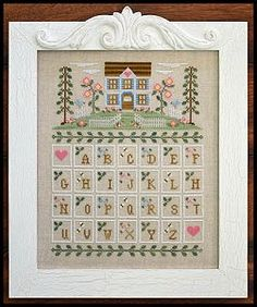Country Cottage Needleworks - Cottage Alphabet – Stoney Creek Online Store