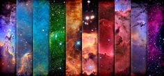 The many colors of the universe... I am always in awe of such masterful beauty. Thanks Lord for a lovely expanse.