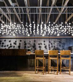 Méchant Design: Origo Café Love hanging lights for kitchen