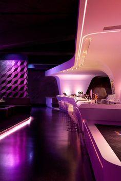 интерьер ресторана ночного клуба