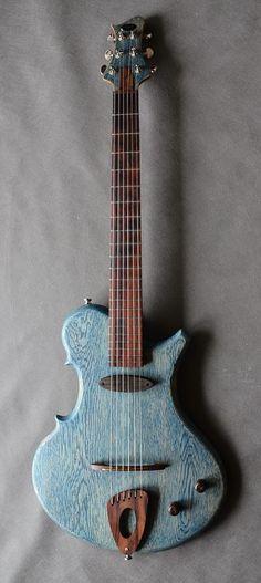 * STRADI guitar by Marek Dąbek ~ Here is website link for Stradi guitars >http://www.stradi.pl/ ~