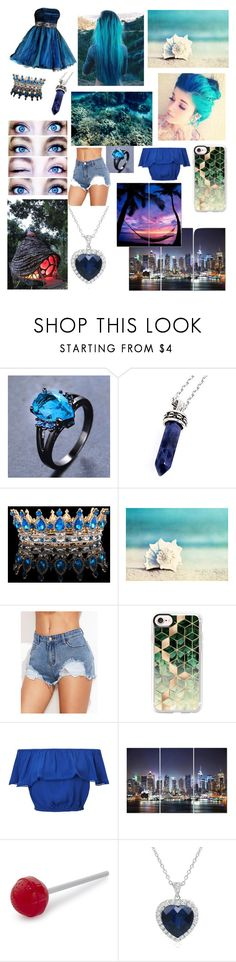 """""""Modern Water Bender"""" by shaylatho ❤ liked on Polyvore featuring Bellini, Lands' End, WALL, Casetify, Miss Selfridge, Fred, Amanda Rose Collection and modern"""