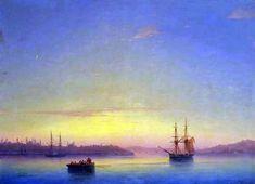 Иван Айвазовский «Константинополь на рассвете»