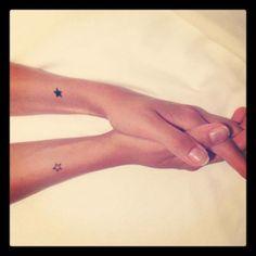 Estrellas   Pequeños Tatuajes   Antebrazos