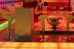 Disco Club, Relief, Disco Ball, Light Table, Html, Designer, Custom Design, Furniture Design, Tables