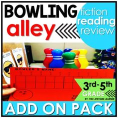 You will bowl over the competition with this cool reading classroom transformation ADD ON PACK! You're now a pro-bowler showing off their bowling skills! Use this fun bowling-themed pack of reading skills to spiral review other FICTION skills during your room transformation! A digital version is inc...