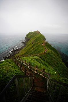 Kamui Cape 神威岬 in Shakotan Peninsula, Hokkaido by kensilin, Panoramio