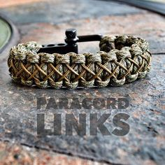 The Diamond Links Bracelet with a Black or Chrome Stainless Steel Adjustable…