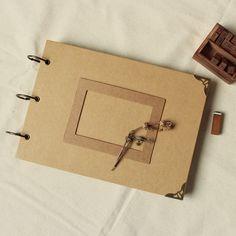 A4 Ring Binder Wedding Album 56 pages//Wedding Guest Book//