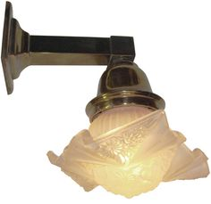 Pullman Railroad Sconce Deco Consolidated Modernizer Shade | Modernism