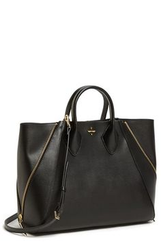 Pour la Victoire 'Yves - Medium' Leather Tote | Nordstrom