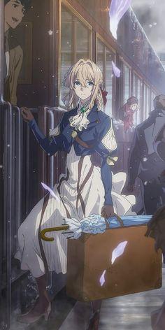 Violet Evergarden Wallpaper, Et Wallpaper, Cute Anime Wallpaper, Anime Backgrounds Wallpapers, Animes Wallpapers, Cute Wallpapers, Kawaii Anime Girl, Anime Art Girl, Cute Anime Character