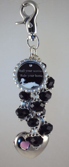 Horse themed purse light by Diva Dangles at www.divadangles.com