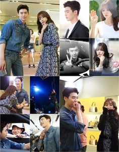 "Lee Jong-suk and Han Hyo-joo in ""W"", pictures gift set @ HanCinema :: The Korean Movie and Drama Database"