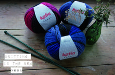 Knitting is the new yoga (katia)