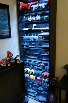 Amazing rack!  www.gamesyouloved.com