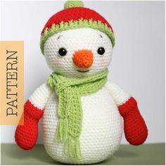 Crochet Amigurumi Christmas Snowman   Craftsy