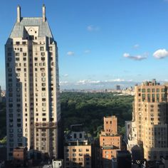 Travel Tip: New York City Must-Do - drinks at rooftop bar The Roof overlooking Central Park.