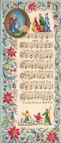 Oh come, all ye faithful........http://www.pinterest.com/annefromla/holiday-christmas/