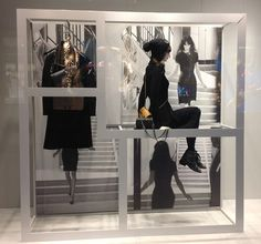 "CHANEL,London,""introducing a window of opportunity"", pinned by Ton van der Veer"