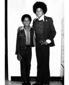 Michael Jackson and Randy - Jackson 5 Era