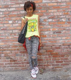 Teenage Mutant Ninja Turtles Muscle Tee from #Forever21