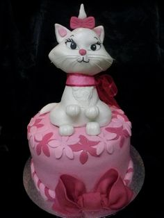 The Disney Cake Blog: Aristocats - Marie Cake