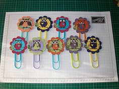 Stampin' With Rachael: Owl Book Marks