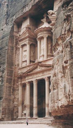 The Treasury | Petra, Jordan | Dave Pope