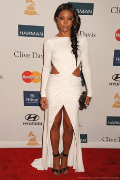 Gabrielle Union does a neat,classy side pony