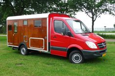 Tonke Campers (NL) build high standard wooden campers on modern q Sprinter chassis