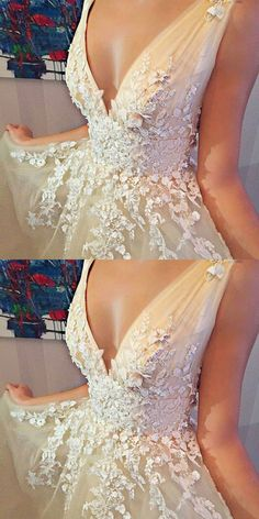 A-Line Dresses,V-Neck Dresses,Sleeveless Dresses,Short Dresses,Tulle Dresses,Homecoming Dresses 2017,Beading Dresses,Appliques Dresses,Wedding Dresses 2017