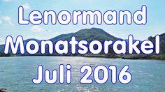 Lenormand-Monatsorakel Juli 2016 zum Mitlernen und Üben