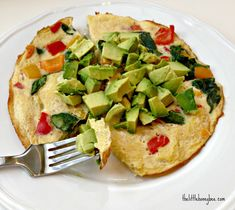 Frittata with Avocado