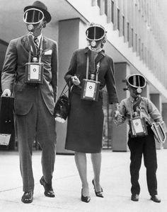 Image by © Bettmann/CORBIS gas masks
