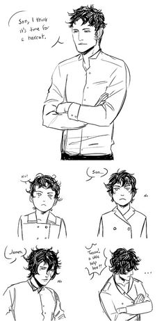 It is not easy raising a Herondale. xD Will and James