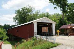 Mansfield Covered Bridge (1867) - Parke County, Indiana by SpeedyJR