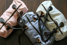 duffel bags by kate hunter