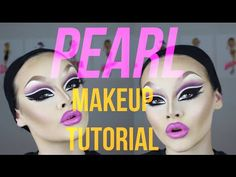 PEARL!- DRAG MAKEUP TUTORIAL - YouTube