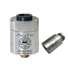 2015 Hottest Plume Veil RDA 1:1 Clone rebuildable Atomizer ss black red copper Plume veil Atomizer for 510 thread Mechanical Mod Free DHL