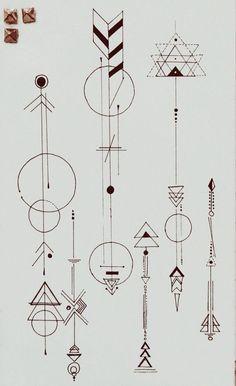 Tattoo Geometric & Arrow Designed by Dr. Woo The post Tattoo Geometric & Arrow Designed by Dr. Woo appeared first on Best Tattoos. Symbol Tattoos, Body Art Tattoos, Paw Tattoos, Octopus Tattoos, Forearm Tattoos, Arrow Tattoos, Tatoos, Arrow Tattoo Finger, Finger Tats